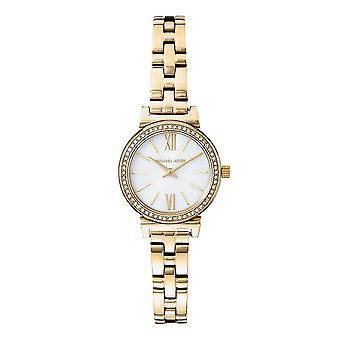Michael Kors Watches Mk3833 Sofie Crystal And Mother Of Pearl Gold Ladies Watch