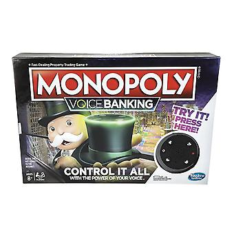 Hasbro Voice Banking Monopoly Electronic Family Board Game