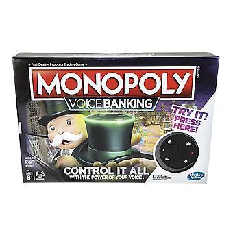 Hasbro Voice Banking Monopoly Electronic Family Board Jeu