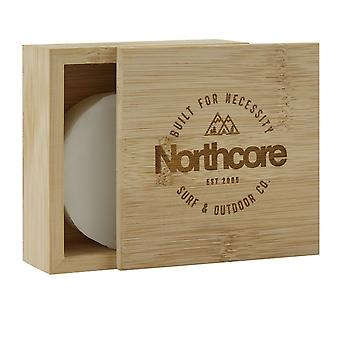 Northcore banboo surf wax box