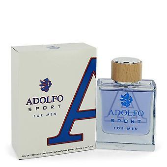 Adolfo Sport Eau De Toilette Spray av Adolfo 3,4 oz Eau De Toilette Spray