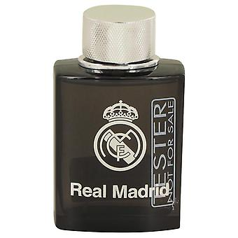 Real Madrid zwarte Eau De Toilette Spray (Tester) door Air Val internationale 3.4 oz Eau De Toilette Spray