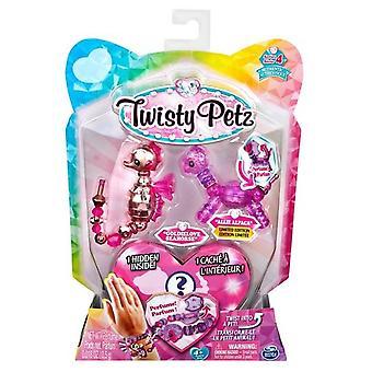 Twisty Petz Series 4 - 3 Pack - Goldielove Seahorse & Allie Alpaca