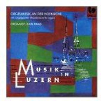 Benn/Stalder/Breitenbach - Orgelmusik an Der Hofkirche [CD] USA import