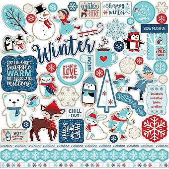 Echo Park Celebrate Winter 12x12 Inch Element Sticker