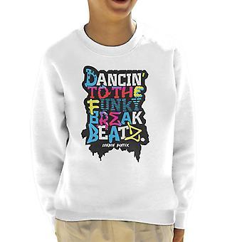 London Banter Break Beatz Kid's Sweatshirt