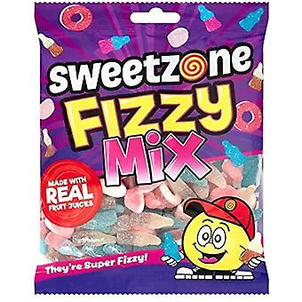 SweetZone Fizzy Mix HMC Halal Sweets, 180g Bag