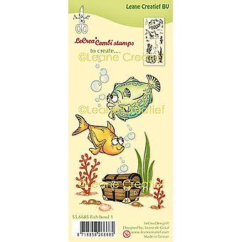 Leane Creatief Fish 1 Clear Stamps
