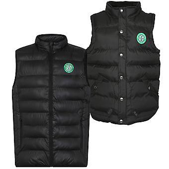 Celtic FC officiella fotboll Gåva Mens Vadderad Body Varmare Gilet