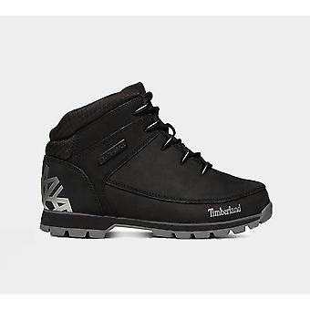 Timberland Euro Sprint Hiker Jet Black A1Ri9 Men'S Shoes Boots