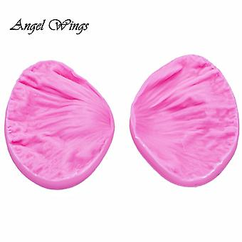 3d Peony Flower Petals Embossed Silicone Mold