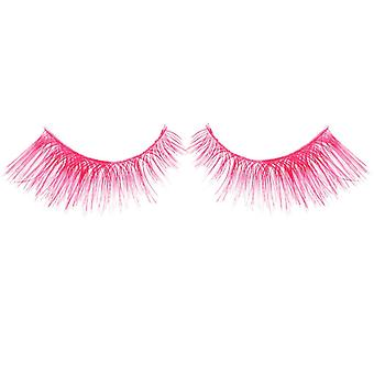 Bliss False Eyelashes - #331 / Pink Neon - Elegant 3D Effect Luscious Lashes