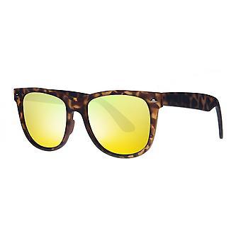 نظارات شمسية Unisex Cat.3 براون / أصفر (AMU19211 C)