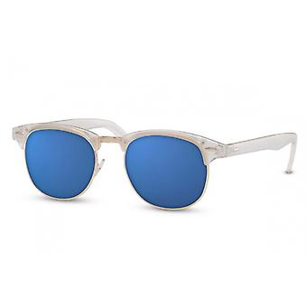 نظارات شمسية Unisex واندر Cat.3 الأبيض / الأزرق (CWI489)