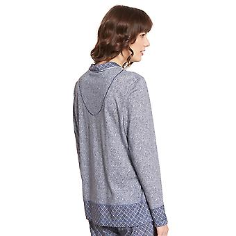 Rösch Pure 1203562-16544 Kvinnor's Tweed Pyjama Top
