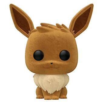 Pokemon Eevee Flocked US Exclusive Pop! Vinile