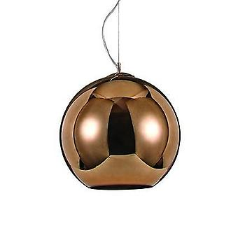 ideell lux nemo - 1 lys medium dome tak anheng kobber, E27