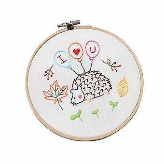 15cm Dia Hand Embroidery Kits with Accessories