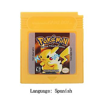 Poke Series Classic Collect Colorful Version Video Game Cartridge Console Card English/spanish Language For Nintendo