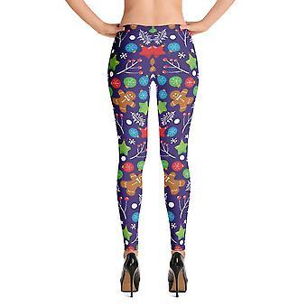 Fashion leggings | christmas series #6 | purple