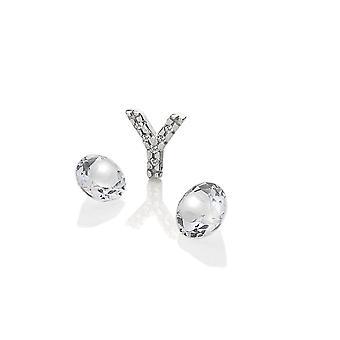 Anais Hot Diamonds Anais Sterling Silver Y Charm AC093