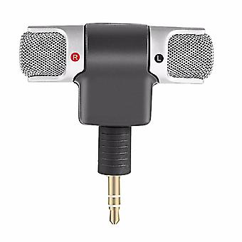 Mini Stereo Microphone Mic 3.5mm Mini Jack For Pc Laptop Notebook, Left And
