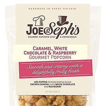 White Chocolate & Raspberry Popcorn