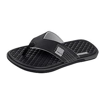 Rider Valencia Thong Mens Flip Flops / Sandals - Black