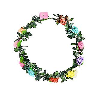 Led Flower Headband - Head Hair Accessories