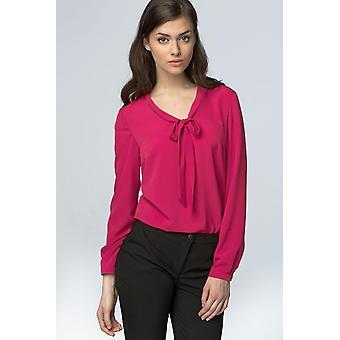Fuchsia nife blouses v66401