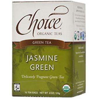 Choice Organic Teas Organic Green Tea, Jasmine 16 BAGS