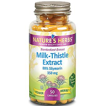 Health From The Sun Milk Thistle Extract, 350 mg, 50 Caps