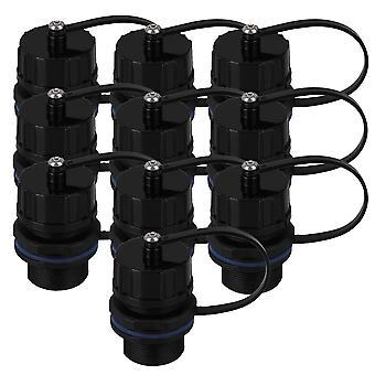 10PCS Plastic 8-Core M20 RJ45 AP Ethernet LAN Waterproof Connector
