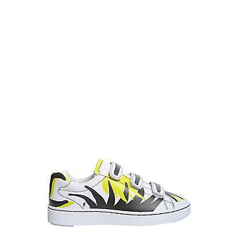 Ash Pharrell001 Damen's Weißes Leder Sneakers