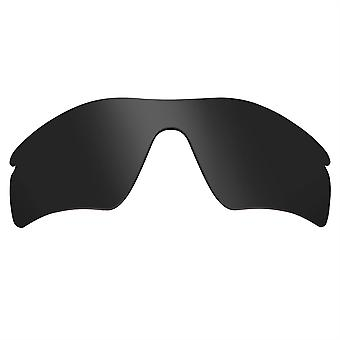 Replacement Lenses for Oakley Radar Path Sunglasses Anti-Scratch Dark Black