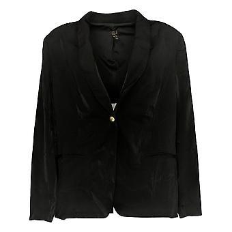 G.I.L.I. fik det elsker det Women's Sweater Button Front Black A354932