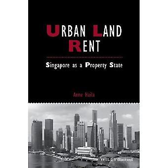 Urbane grond huren: Singapore als een eigenschap staat (Studies in stedelijke en sociale veranderingen)