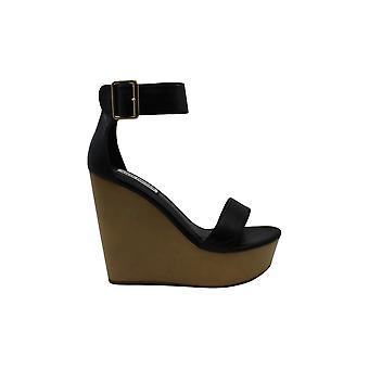 Steve Madden Frauen's Schuhe Hawaii Leder Open Toe Casual Plattform Sandalen