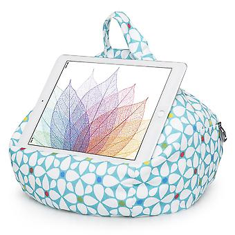 Ipad, tablet & ereader bean bag cushion by ibeani - geometric
