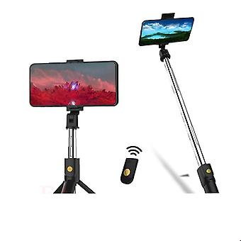 3 In 1 Wireless Bluetooth Selfie Stick erweiterbar, Handheld Monopod Faltbar,