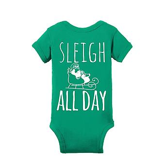 Sleigh All Days  Baby Bodysuits