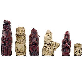 Berkeley Chess Medieval Cardinal Chess Men