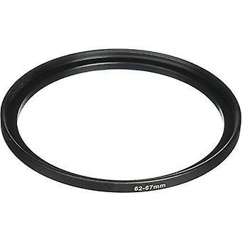 Phot-r® 62-67mm kovový stupňovitý kroužek adaptér pro kamerové filtry a objektivy 62 - 67mm