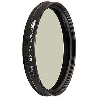 Amazonbasics kruhový polarizační filtr - 55 mm jediný