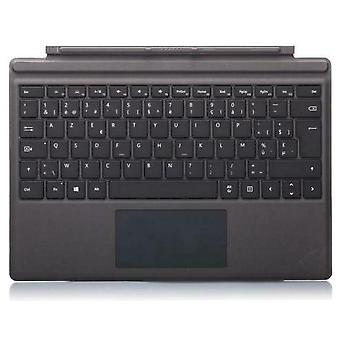Microsoft Surface Pro 3 & 4 AZERTY Keyboard and Cover Belge/French - Black