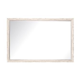 Silver And Cream Aspen Wall Mirror 30'' X 34''