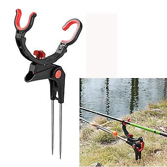 Double-spring Angle, Fishing Pole Tackle, Bracket Steel Rod Holder