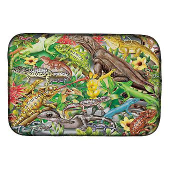 Carolines Schatten PRS4047DDM Lizard Jungle Dish Drogen Mat