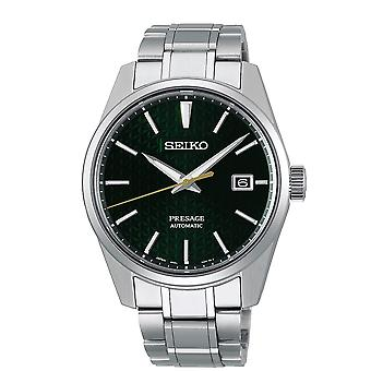Seiko SPB169J1 Presage Green & Silver Stainless Steel Automatic Men's Watch