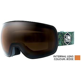 Carve Umfang photochrome Linse Schneebrille